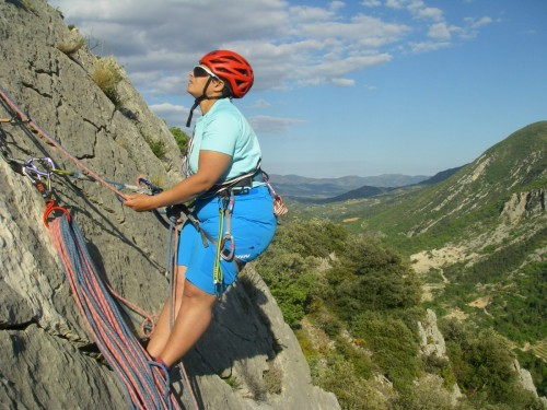 Stage escalade Buis les Baronnies